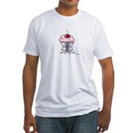 Sexy Cupcake Fitted T-Shirt