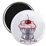 """Sexy Cupcake 2.25"""" Magnet (10 pack)"""