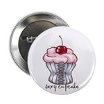 """Sexy Cupcake 2.25"""" Button (10 pack)"""