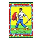 Vintage Loteria Valiente Postcards (Package of 8)