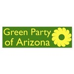 Green Party of Arizona bumper sticker