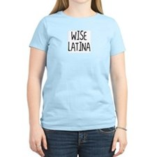 Women's 'Wise Latina' Light T-Shirt