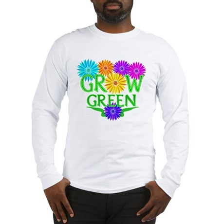 Grow Green Floral Long Sleeve T-Shirt