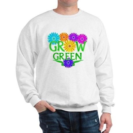 Grow Green Floral Sweatshirt