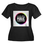 Auburn Public Theater Women's Plus Size Scoop Neck