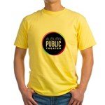 Auburn Public Theater Yellow T-Shirt