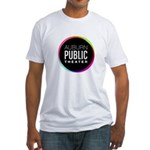 Auburn Public Theater Fitted T-Shirt