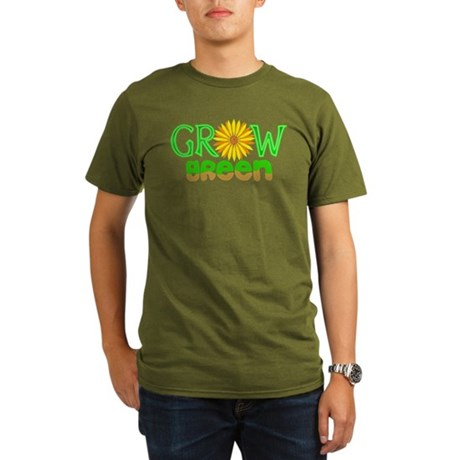 Grow Green Organic Men's T-Shirt (dark)
