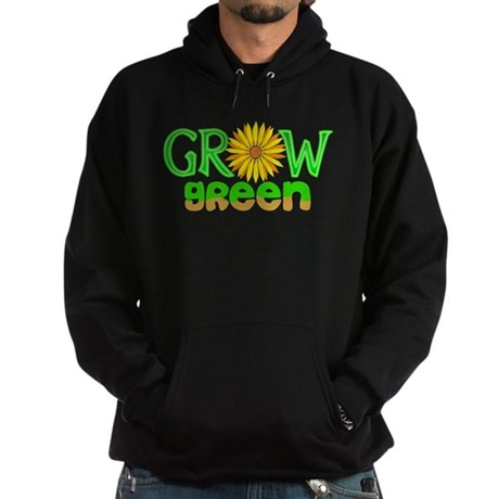 Grow Green Hoodie (dark)
