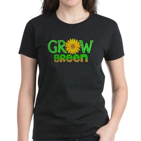 Grow Green Women's Dark T-Shirt