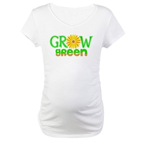 Grow Green Maternity T-Shirt