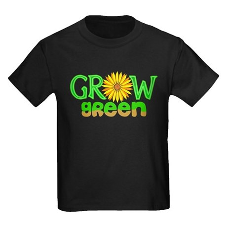 Grow Green Kids Dark T-Shirt