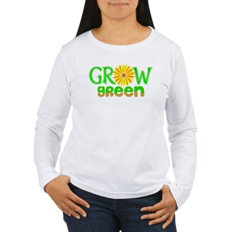 Grow Green Women's Long Sleeve T-Shirt