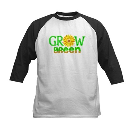 Grow Green Kids Baseball Jersey