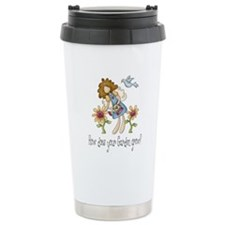 How Does Your Garden Grow Ceramic Travel Mug