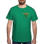 Masonic Veterinarian Dark T-Shirt