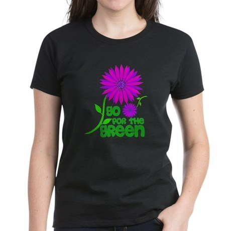 Go for the Green Women's Dark T-Shirt