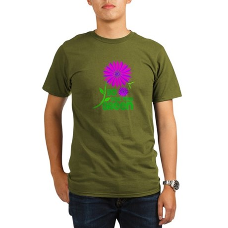 Go for the Green Organic Men's T-Shirt (dark)