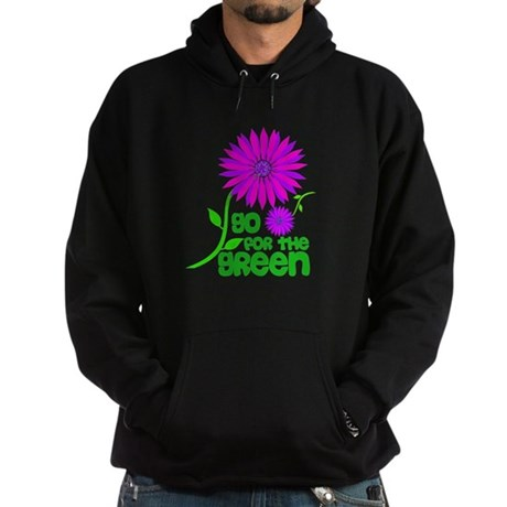 Go for the Green Hoodie (dark)