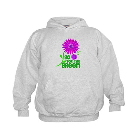 Go for the Green Kids Hoodie