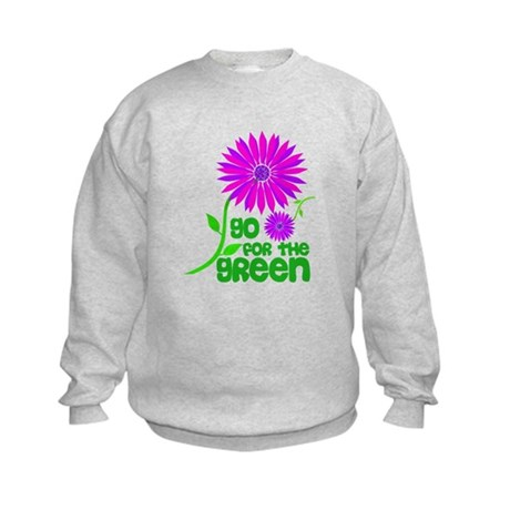 Go for the Green Kids Sweatshirt