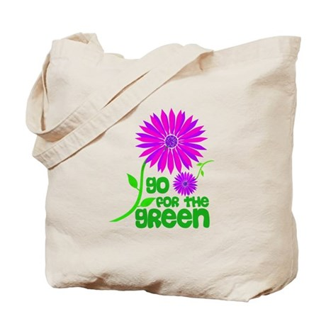 Go for the Green Tote Bag