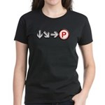 Hadoken Women's Dark T-Shirt