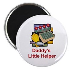Daddy's Helper (Garden) Magnet
