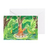 Dragonfire Greeting Cards (Pk of 10)