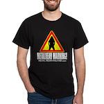 Dark T-Shirt Metalhead warning
