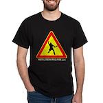 Dark T-Shirt Beware of MetalHead simple