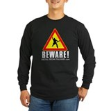 Long Sleeve Dark Beware of Metalhead