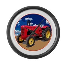 Cute Vintage farm Large Wall Clock