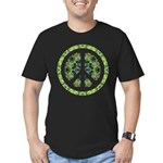 CND Floral7 Men's Fitted T-Shirt (dark)