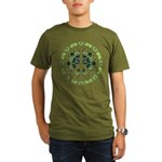 CND Floral7 Organic Men's T-Shirt (dark)