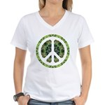 CND Floral7 Women's V-Neck T-Shirt
