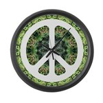 CND Floral7 Large Wall Clock