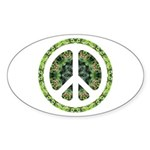 CND Floral7 Oval Sticker (10 pk)