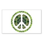 CND Floral7 Rectangle Sticker 10 pk)