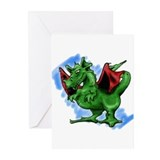Fantastic creatures Greeting Cards (Pk of 10)