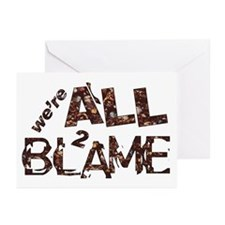 We're All To Blame Greeting Cards (Pk of 20)