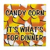 Candy Corn for Dinner Tile Coaster