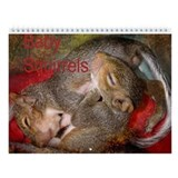 Cute Squirrel Wall Calendar