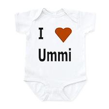I love Ummi Infant Bodysuit