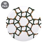 "Cute Fractal 3.5"" Button (10 pack)"