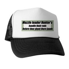 Muzzle loader humor Trucker Hat