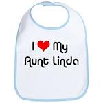 I Love My Aunt Linda  Bib