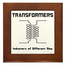 Transfomers Inductors of Different Size Framed Til