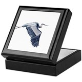 heron design Keepsake Box
