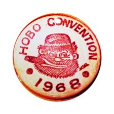 Hobo Convention Ornament (Round)